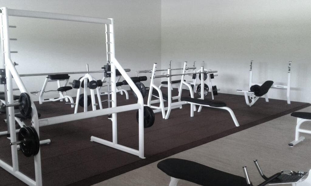 Instalación de suelos para gimnasios